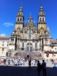 The wonderful Cathedral at Santiago de Compostela